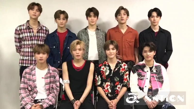 180814 NCT 127 Message @ a-nation