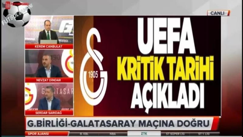 UEFAnın Galatasaray kararını açıklayacağı tarih belli oldu!