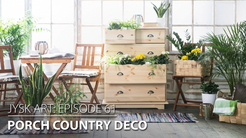 JYSKart Deco: Porch Country Deco