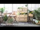 JYSKart Deco: Porch Country Deco