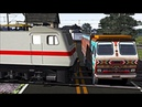 Train TRUCK Accident 2018 || Indian Train Simulator || TRUCK Crashed by Train || Indian Railways