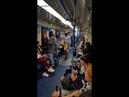 Дэдпул и Человек Паук/Веном танцуют в Московском метро