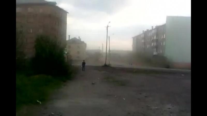 ХэлоуВоркута Воркутинское пыльное облако