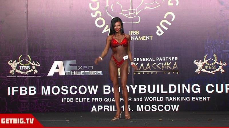 Лилия Тишина - 3 место на Moscow Bodybuilding Cup - 2018 (169 см)