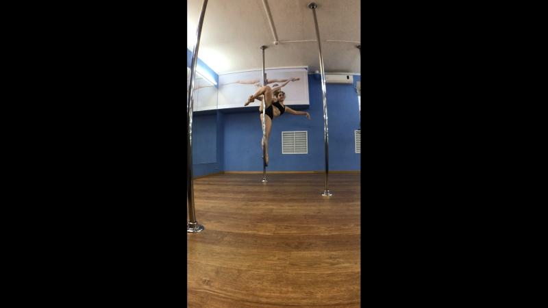 Pole dance - Юстус Саша