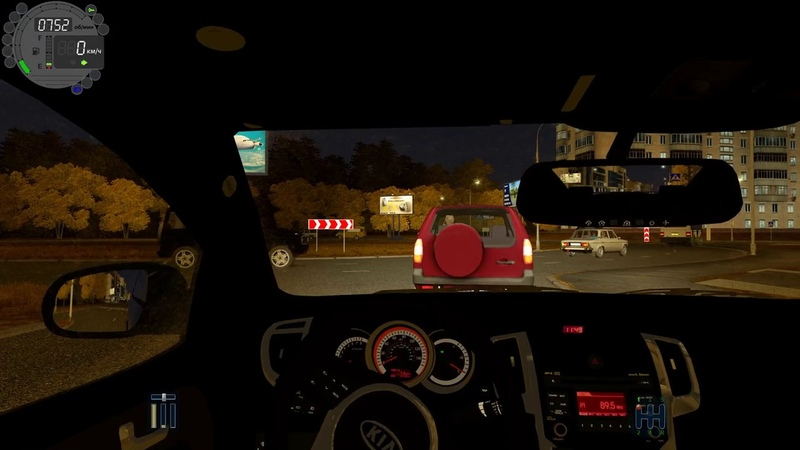 City Car Driving - Kia Cerato Koup | Fast night driving