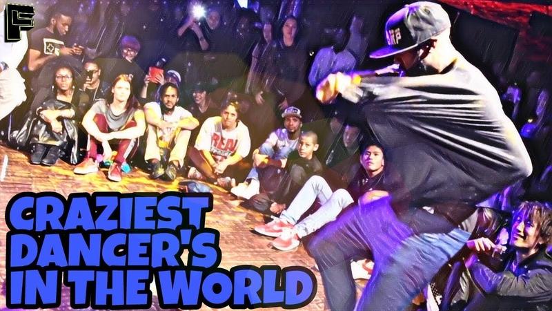 Craziest Dancer in the world | Kill The Beat (lestwins,tight eyez ,waydi,skitzo,etc)