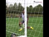 The goalkeeper from Gabon