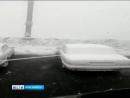 Утром в Норильске выпал снег.20.07.2018г