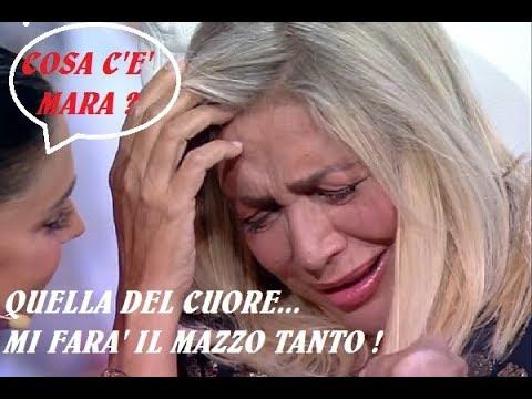 LA PAURA DI MARA VENIER: QUELLA MI FARA' IL MAZZO TANTO..SPERIAMO ALMENO NON COL CUORE..