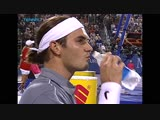 Tennis Masters Cup Houston 2003 Round Robin Roger Federer - Andre Agassi