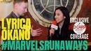 Lyrica Okano interviewed: MarvelsRunaways cast/crew for Season 2 setvisit Hulu