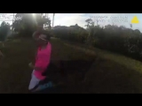 Bodycam Shows Officer Deploy K9 On Fleeing Driver Of Stolen Vehicle