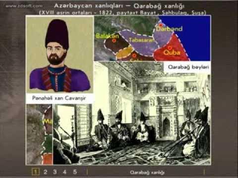 Azərbaycan tarixi.Qarabağ xanlığı