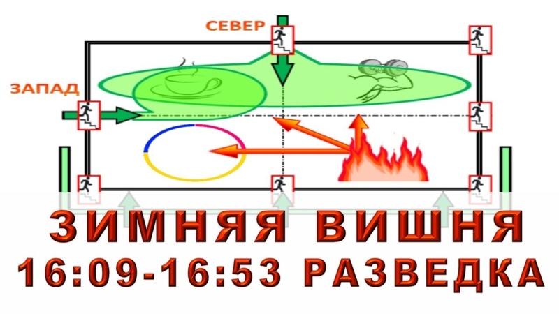 Зимняя Вишня. 16:09-16:53 ч. Разведка