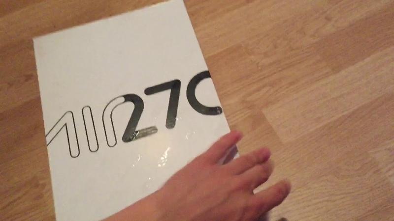 Кроссовки Nike air max 270 фиолетовые