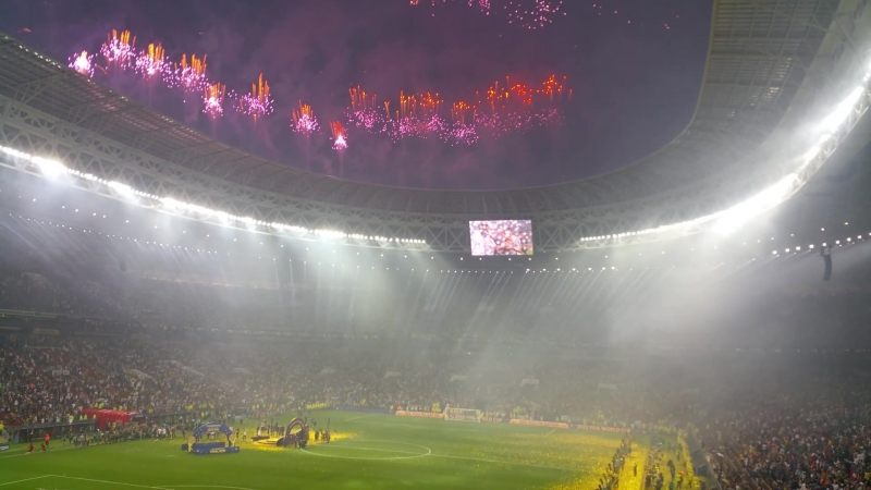 Церемония награждения FIFA World Cup Russia 2018 @ Финал, Лужники в мой юбилейный день рождения 2018.07.15