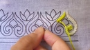 Hand embroidery border design gorgeous border design for dress cross stitch