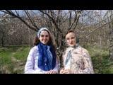 Весеннее приветствие от Олеси Ладной и Юлии Корольковой!
