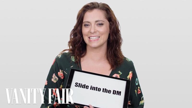 Crazy Ex-Girlfriend's Rachel Bloom Teaches You Dating Slang | Vanity Fair
