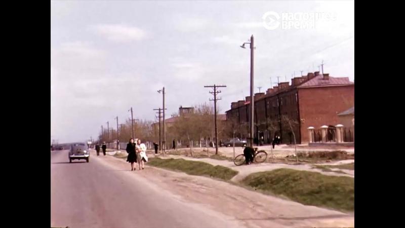 По дорогам СССР 1950 х гг АРХИВ МАНХОФА