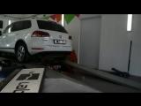 VW Touareg 3.0TDi 204 Hp на стенде (анонс)
