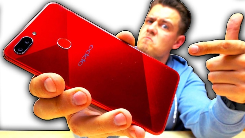 Распаковка Oppo A5. Рубиновый Красавец!