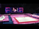 Ангелина Симакова. Чемпионат Европы 2018. Квалификация. Опорный прыжок