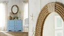 Nautical Rope Mirror Frame DIY Rope Projects