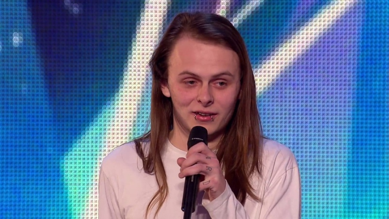 Will rock singer Aaron warm the Judges hearts | Britains Got Talent 2015