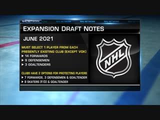 NHL Tonight: Expansion draft Dec 4, 2018