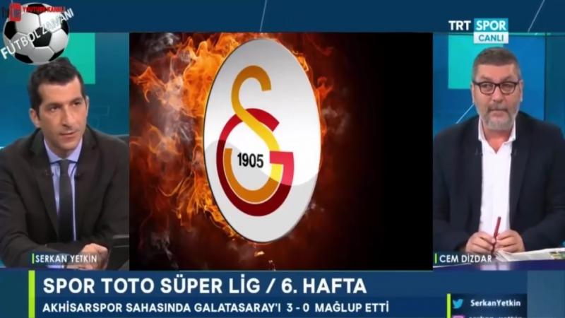 Spor Manşet 24 Eylül 2018 Cem Dizdar Akhisarspor 3 0 Galatasaray