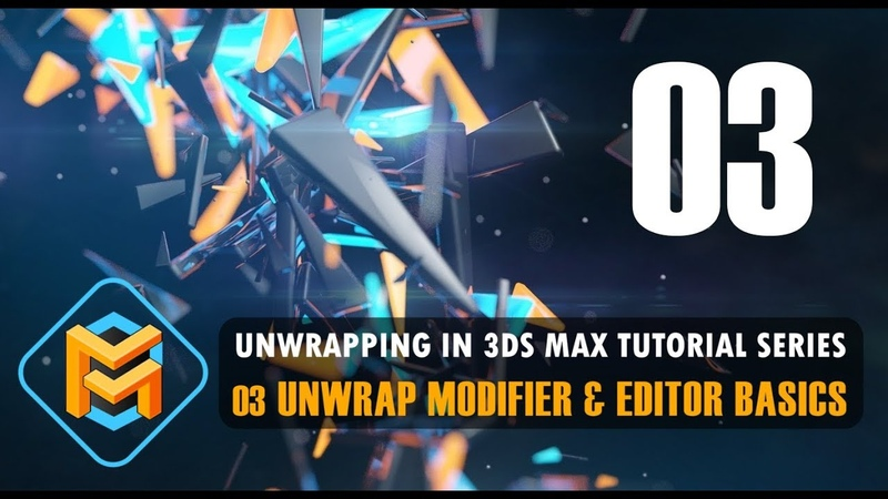 Unwrapping in 3ds Max 03 Unwrap Modifier Editor Basics