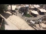 Иерусалим. Муэдзин с минарета призывает на молитву