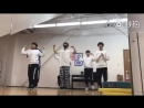 Li Ruotian You Zhangjing Lu Dinghao Bei Honglin Qiu Zhixie and Ling Chao dancing to Lays Sheep