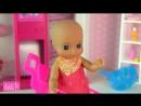 IKuklaTV ❤ Игры в Kуклы со Слоником ❤ В ДЕТСКИЙ МИР ЗА ПОЛЗУНКАМИ! Мультик Барби Беременная Мама Куклы для девочек