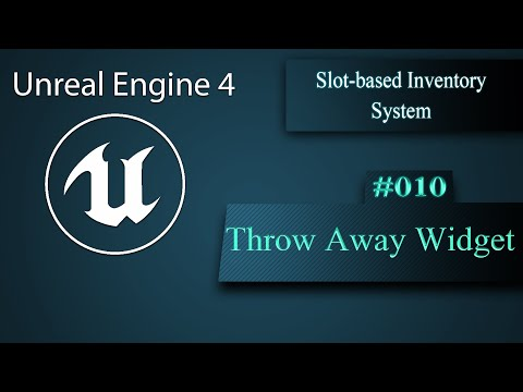 [Eng] Slot-based Inventory System: Throwing away multiple items 010
