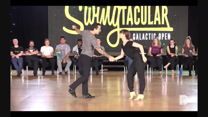Swingtacular Invitational 3rd Place Hugo Miguez Chantelle Pianetta 2018