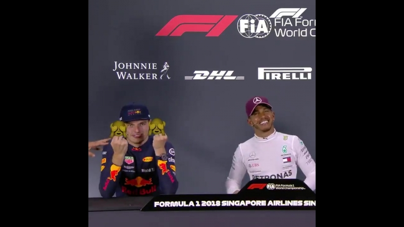 Singapore 2018 It was a lively post-race press conference