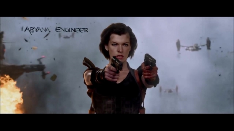 Resident Evil 5_ Retribution. Full Intro. Flying Through The Air. HD 1080p