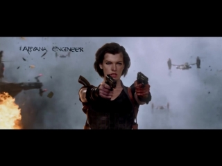 Resident Evil 5_ Retribution. Full Intro. Flying Through The Air. HD 1080p