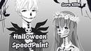 Halloween Manga Art SpeedPaint