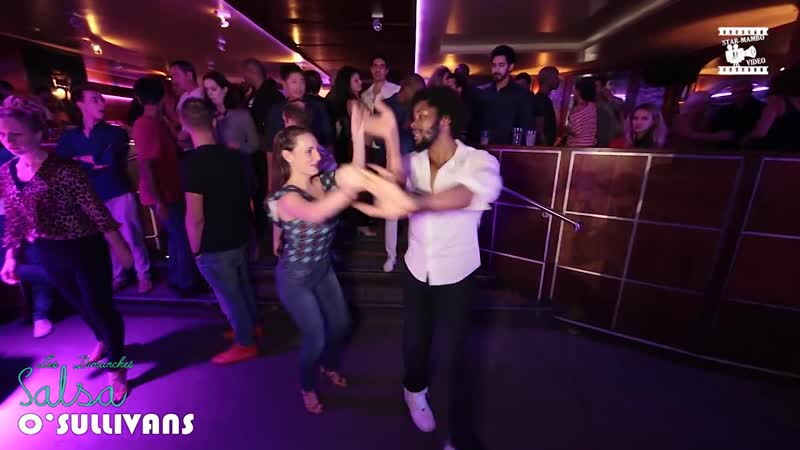 Terry SalsAlianza Nelly - social dancing @ Salsa OSullivans Paris