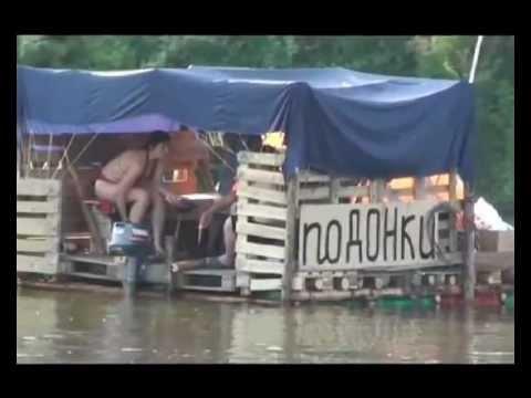 Сплав по реке Дон на плоту, или поДОНки-2012.