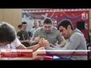 В спорткомплексе «Зенит» прошёл открытый чемпионат по армрестлингу