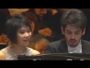 IPO's 80th Anniversary: Yuja Wang, Lahav Shani - Mozart Concerto No.10, K.365 (316a) (Тель-Авив, 2016)