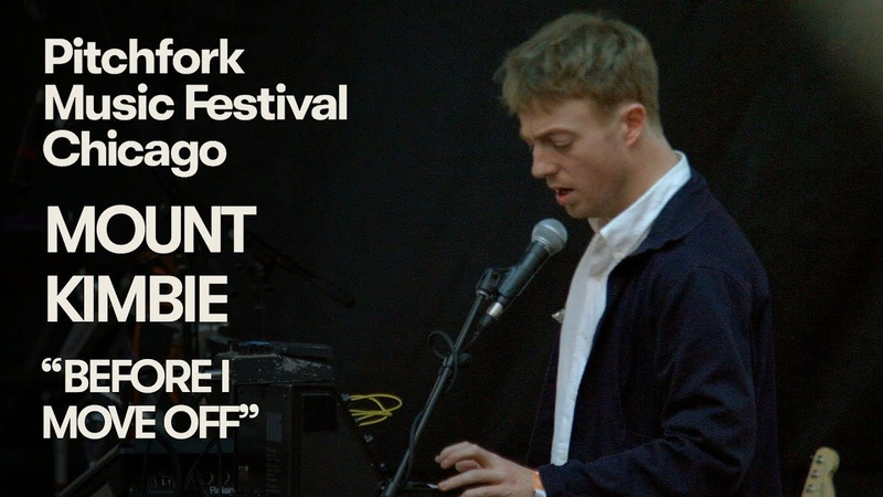 "Mount Kimbie Perform Before I Move Off"" Pitchfork Music Festival 2018"