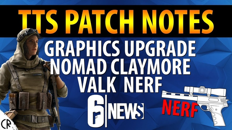 Improved Graphics Balancing Changes - TTS Patch Notes - 6News - Tom Clancys Rainbow Six Siege
