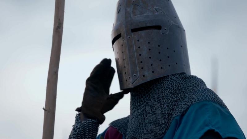 Начало битвы при Баннокберне : поединок Роберта I с Генри де Бохуном (23 июня 1314) :