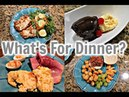 What's For Dinner? | Easter Sunday, Taco Salad Hot Fudge Cake Sundae's!
